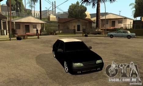 Lada ВАЗ 2114 LT para GTA San Andreas vista traseira