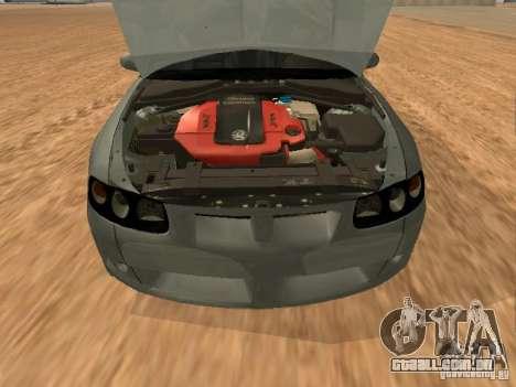 Vauxhall Monaro para GTA San Andreas vista direita