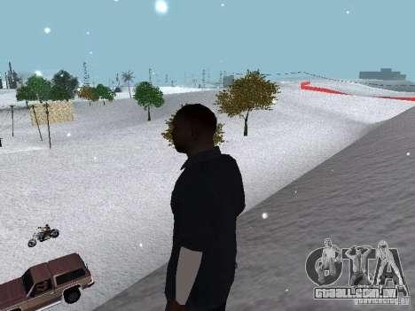 Snow MOD 2012-2013 para GTA San Andreas nono tela