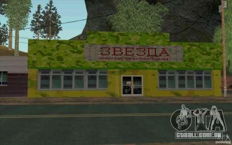 Uma aldeia nova Dillimur para GTA San Andreas sétima tela