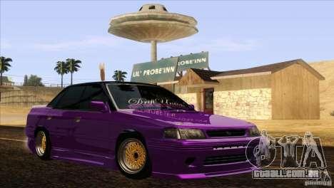 Subaru Legacy Drift Union para GTA San Andreas vista direita