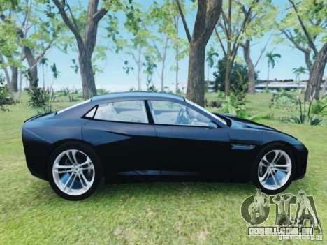 Lamborghini Estoque para GTA 4 vista direita