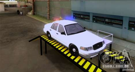Ford Crown Victoria 2009 Detective para GTA San Andreas
