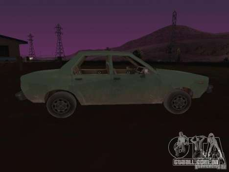 Máquina do CoD: MW para GTA San Andreas vista direita