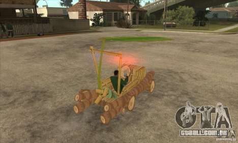 New Police Madagascar para GTA San Andreas vista direita