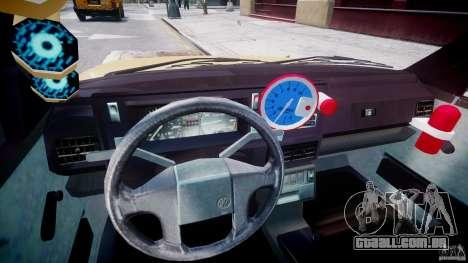 Volkswagen Golf MK2 Tuning para GTA 4 vista de volta