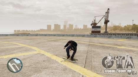 Skate # 1 para GTA 4 traseira esquerda vista
