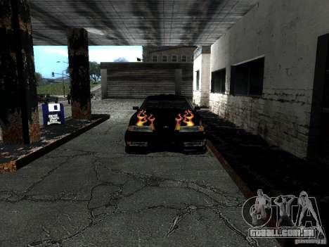 Vinil Rèjzora de Most Wanted para GTA San Andreas vista traseira
