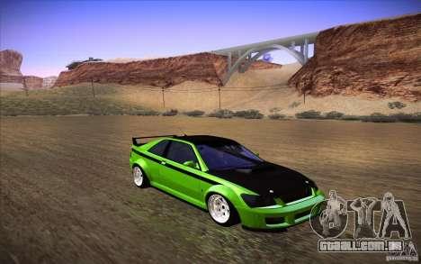 GTA IV Sultan RS para GTA San Andreas