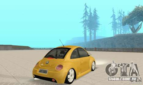 Volkswagen New Beetle GTi 1.8 Turbo para GTA San Andreas esquerda vista