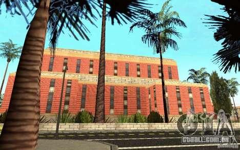 Novas texturas para o hospital em Los Santos para GTA San Andreas quinto tela