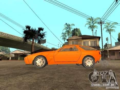 Porsche 928 para GTA San Andreas esquerda vista