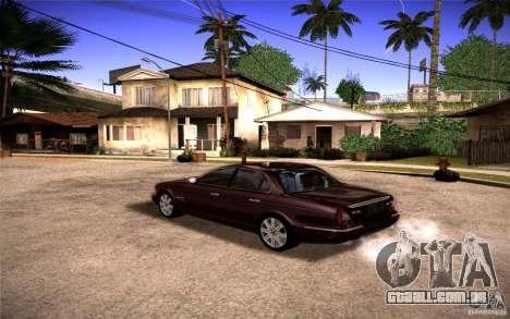 Jaguar Xj8 para GTA San Andreas esquerda vista