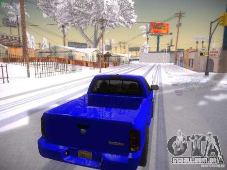 Dodge Ram SRT-10 para GTA San Andreas vista direita