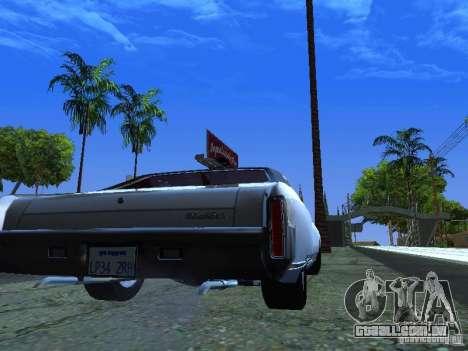 Chevrolet Monte Carlo 1970 para GTA San Andreas vista direita