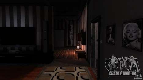 Playboy X New House Textures para GTA 4 por diante tela