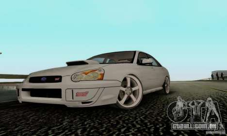Subaru Impreza WRX STi TUNEABLE para GTA San Andreas
