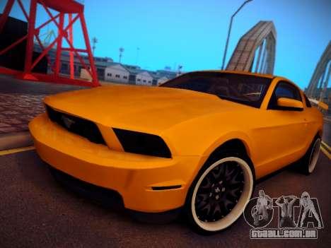 Ford Mustang GT 2010 Tuning para GTA San Andreas