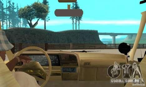 Ford Explorer (Jurassic Park) para GTA San Andreas vista traseira