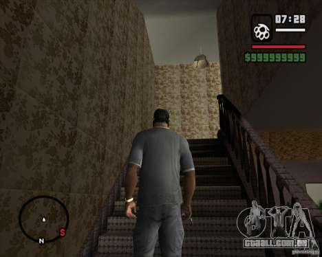 Substituindo o CJeâ casa toda para GTA San Andreas terceira tela