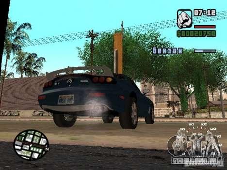Mazda RX-7 para GTA San Andreas esquerda vista