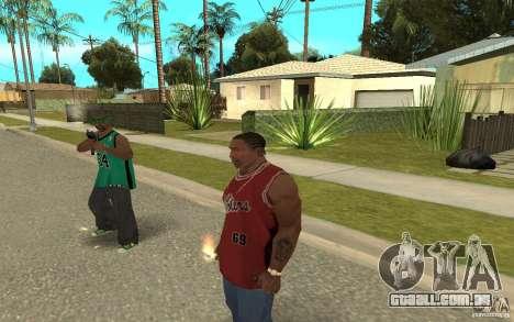 Grove Street Skin Pack para GTA San Andreas oitavo tela