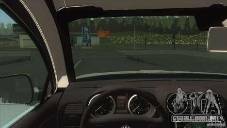 Skoda Octavia Scout para GTA San Andreas vista traseira