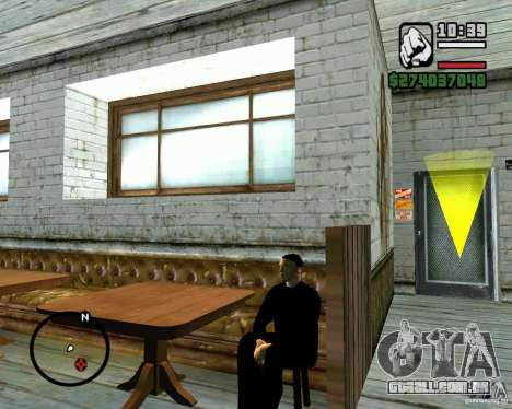 Capacidade de sentar-se para GTA San Andreas terceira tela