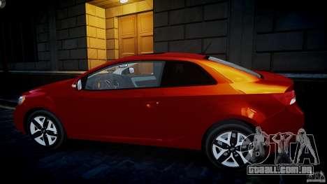 KIA Forte Koup para GTA 4 esquerda vista
