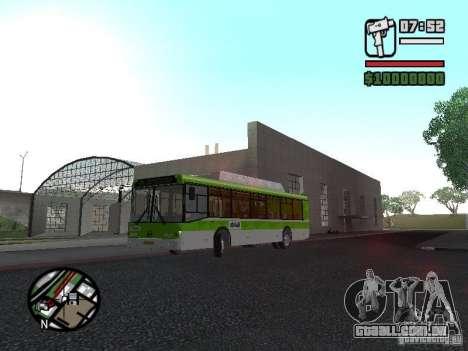 LIAZ 5292.70 para GTA San Andreas esquerda vista