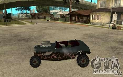 Deuce Brutal Legend para GTA San Andreas esquerda vista