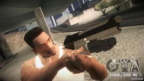 Weapon Pack by GVC Team para GTA San Andreas quinto tela