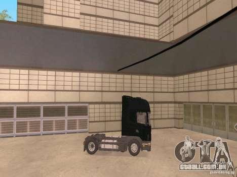 Scania 124L 420 para GTA San Andreas vista direita