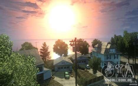 Telas de menu e inicialização de Liberty City em para GTA San Andreas nono tela