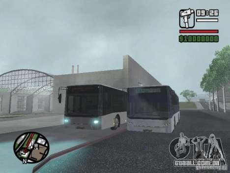 CityLAZ 12 LF para GTA San Andreas vista inferior
