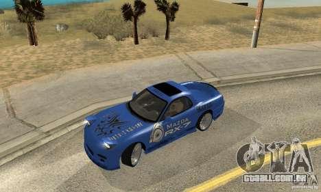 Mazda RX-7 Pickup para GTA San Andreas