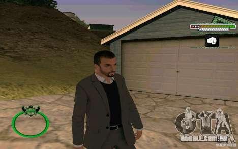 Novo empresário pele HD para GTA San Andreas