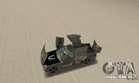 Mercedes Benz AMG S65 DUB para GTA San Andreas vista traseira
