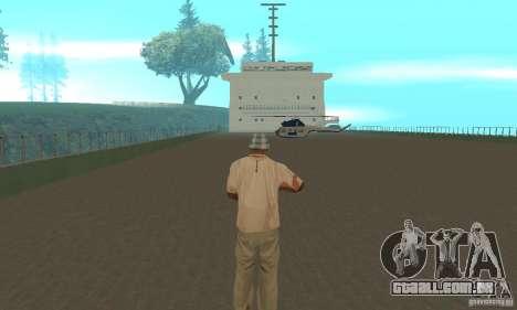 The G60 Ferry boat para GTA San Andreas vista interior
