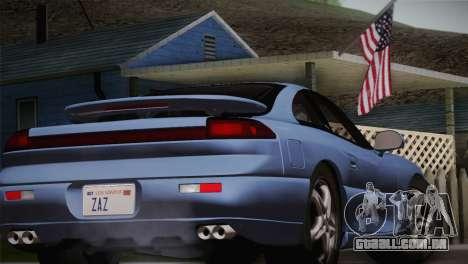 Dodge Stealth RT Twin Turbo 1994 para GTA San Andreas vista traseira