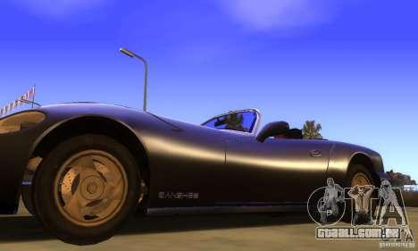 New Banshee [HD] para GTA San Andreas traseira esquerda vista