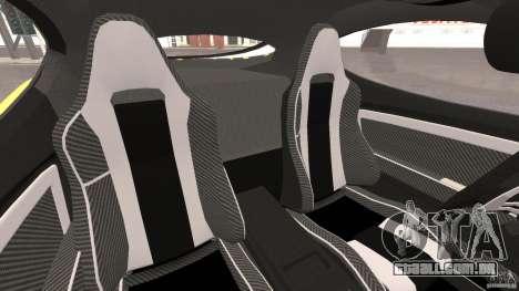 Alfa Romeo 8C Competizione para GTA 4 vista interior