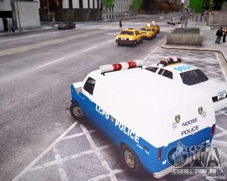 Ford E-150 LCPD para GTA 4 vista direita