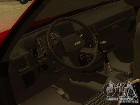 Toyota Celica Supra para GTA San Andreas vista superior