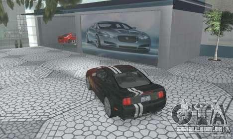 Saleen S281 Pack 1 para vista lateral GTA San Andreas