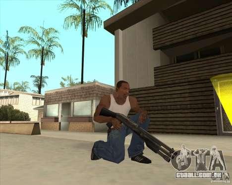 Benelli M3 Super 90 para GTA San Andreas terceira tela