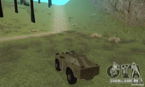 BRDM-1 pele 2 para GTA San Andreas vista direita