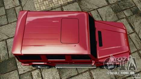 Mercedes-Benz G55 AMG para GTA 4 vista direita