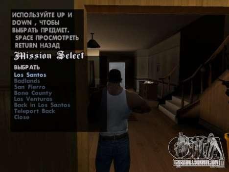 Repetir qualquer missão para GTA San Andreas