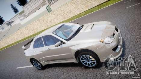 Subaru Impreza STI Wide Body para GTA 4